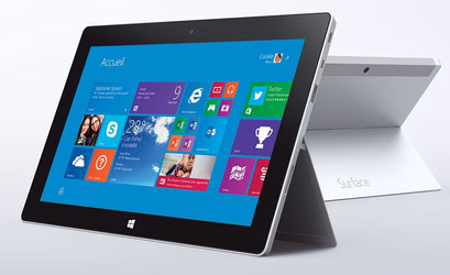Tablette Surface sous Windows 8 et RT, comment ça marche?