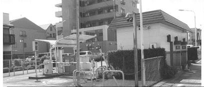 廃止される北本駅東口の公衆トイレ