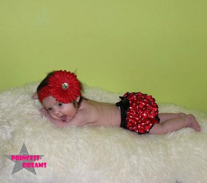 Neugeborenen Baby Haarband Mädchen Blume Fotografie Prop Babyfotografie Stirnband Accessoire RTS Props