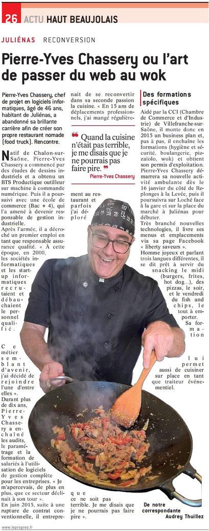 Liberty Saveurs food truck Mâcon. Food truck Bourg-en-bresse. Food Truck Villefranche-sur-Saône