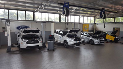 Officina Opel e Ford