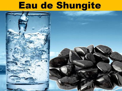 Eau de Shungite - Lithothérapie - Casa bien-être.fr