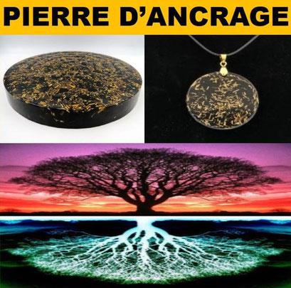 Pierre d'ancrage - ancrage à la terre - casa bien-être.fr