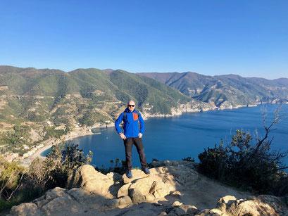 Cinque Terre, Levanto, Monterosso, Punta Mesco, hiking, Liguria