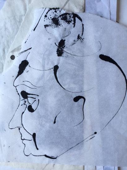 Sketch Ink on Paper 2003-2004? ©︎ Hanae Tanazawa