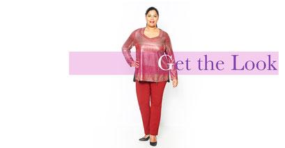 Damen-Pullover in großen Größen , Damenpullover glänzend XXL