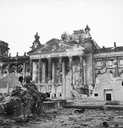 El Reichstag a Berlín el maig de 1945