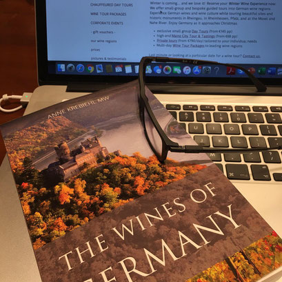 book cover of Wines of Germany - by Anne Krebiehl MW