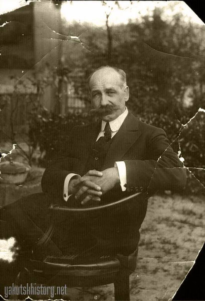 В.К. Курнатовский в Париже. 1910 г.