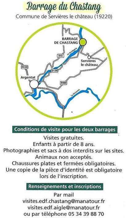 Espace Passions De Chastang Xaintrie Site Barrage Du Accueil x1qxSw
