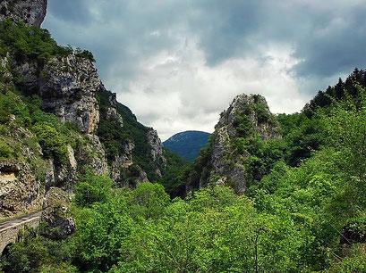 Gorges de Joucou Randonnee pyrenees audoises