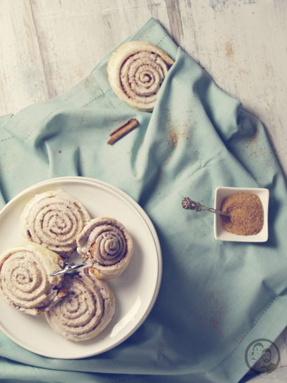 Cinnamon Rolls_backen_Rezept