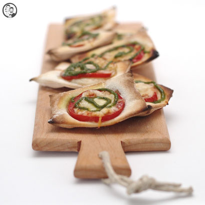 Pizza Snacks mit Pesto