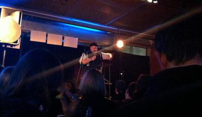 Mein allererster Poetry Slam beim SlamFfm am 14.02.2014