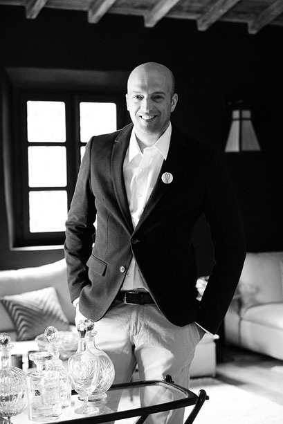 Julien Rigot, chef éxécutif du Hameau des Baux