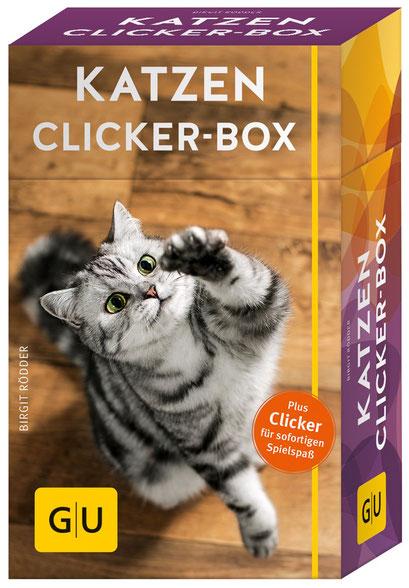Katzen Clicker Box Spielzeug Buch