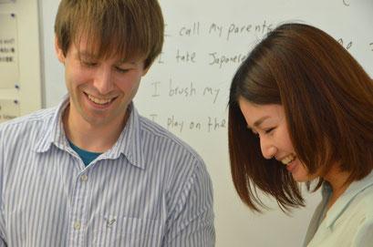 親切な外国人講師陣。名古屋市中村区、栄、金山の格安英会話です。