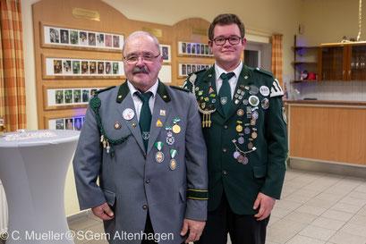 König der Könige Heinrich Schäfer mit seiner Frau Anke