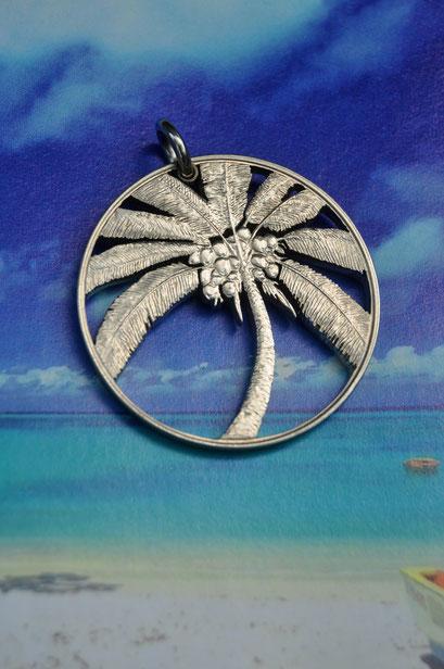 Münzsägewerk Katrin Thull   Samoa - Palme
