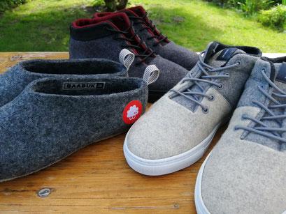 Filzschuhe - Schurwollsneaker