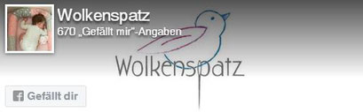 Facebook Like Button Wolkenspatz