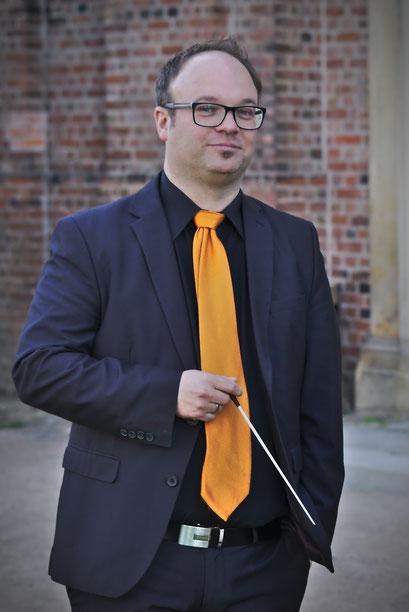 Timo Hänf - Dirigent der Brass Bamd WBI