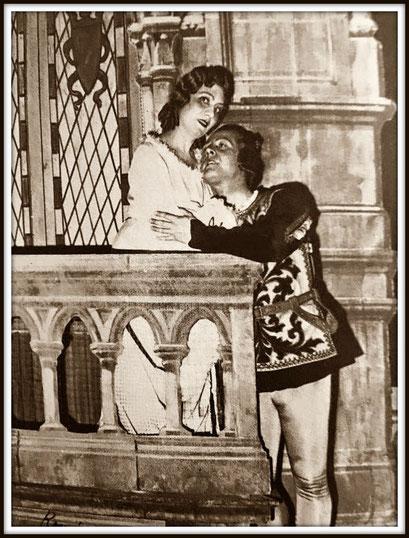 Roméo - ROMÉO ET JULIETTE di Charles Gounod con Marthe Nespoulos (Juliette)