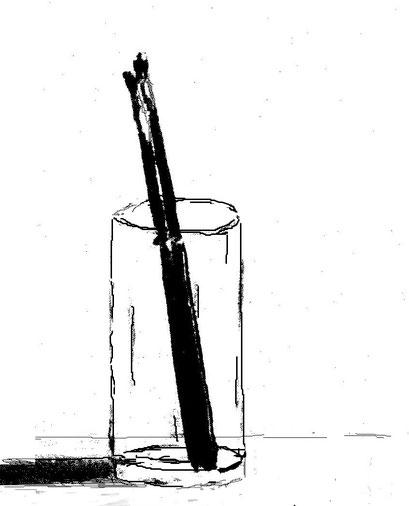 10-Minuten-Malerei: Künstler-Stillleben