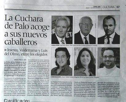 Andrés Iniesta Premios cuchara de palo 2013