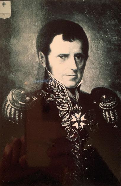 Général Etienne Estève, baron de l'Empire par nouvelles lettres patentes du 13 Juillet 1811