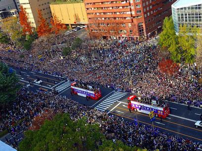 2012年サンフレッチェ広島優勝パレード