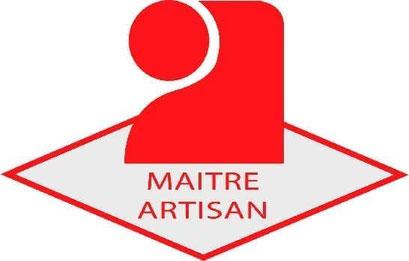Logo rouge du Titre de Maître Artisan