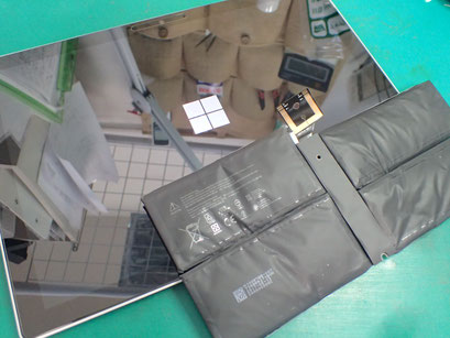 Surface PRO5バッテリー交換後