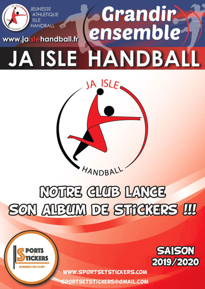 Affiche des stickers saison 2019-2020
