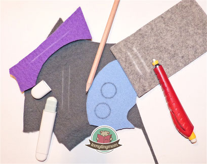 how to make a quiet book felt sewing tips