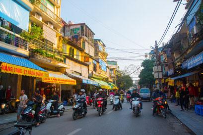 ベトナムの街の様子