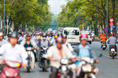 ベトナム・ハノイ市の様子