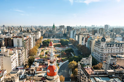 View of Buenos Aires Argentina private city tour