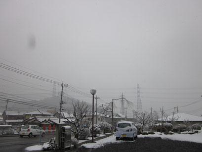 現在の雪の様子です!