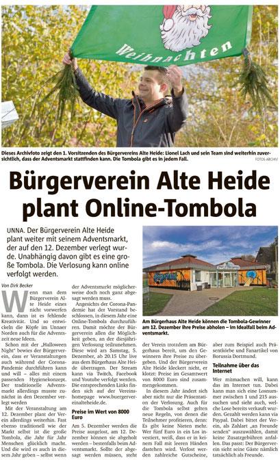 Hellweger Anzeiger 16.11.2020