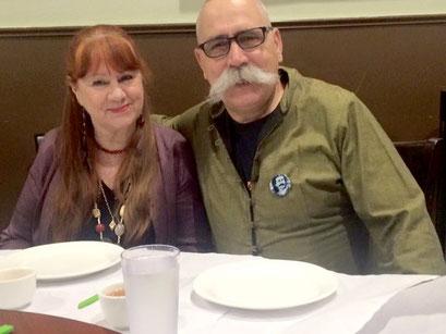2016 ; Raine with her husband - Bill