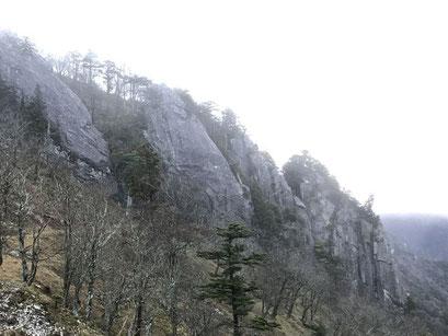 深仙の四天岩