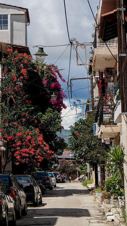 Flower Power Streets in Zakynthos Zante Town | Beautiful Greece | hot-port.de | Lifestyle Blog