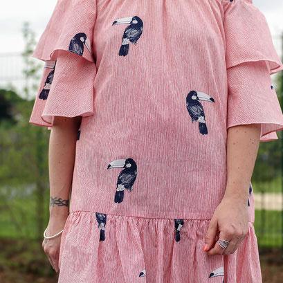 Volant Sommerkleid von Zara | Coole Rüschen für heiße Tage | Hot Port Life & Style | 30+ Lifestyle