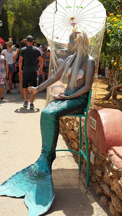 Coole Fashion Spots | Der Hippie Markt in Es Canyar | Meerjungfrau