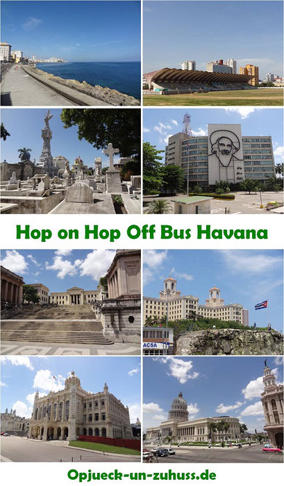 Hop on Hop off Bus Tour Havana