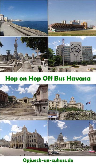 Hop on Hop off Bus Tour Havana