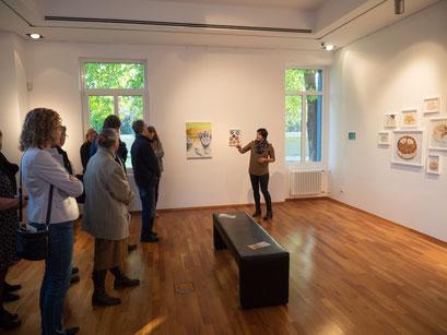 Professionalisierung für Künstler, Präsentation Kunsthaus Tatjana Utz, Künstlergespräch