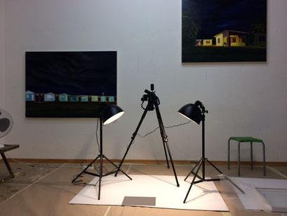 Kunstcoaching, Professionalisierung für Künstler, Aufbau Ausstellung, Tatjana Utz, Atelier, Fotografie