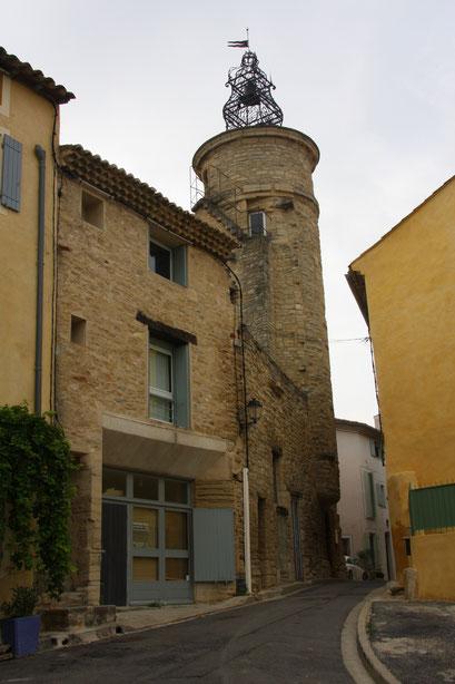 Bild: Der Belfried in Caromb